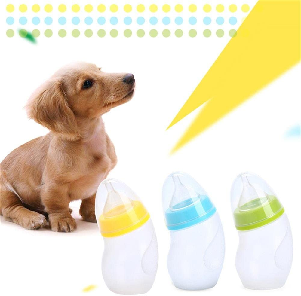 50ml Pet Nursing Bottle Baby Cat Dog Feeding Bottle With Silicone Nipple Brush For Nursing Small Cats Dogs For Small Medium Kitten Cat Or Puppy Dog Random Color Amazon Ca Home Kitchen