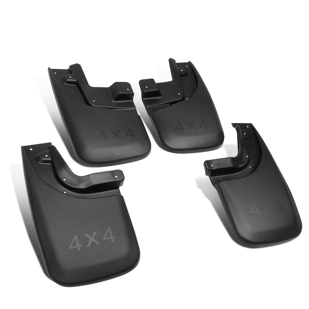 DNA MOTORING WFMK-007 4Pcs Mud Guard Splash Flap Kit for 14-18 Silverado//Sierra
