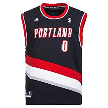 Adidas - Camiseta de Baloncesto, diseño de Portland - Nero Talla:XS: Amazon.es: Deportes y aire libre
