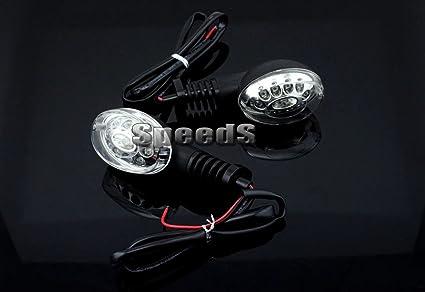 Motocicleta LED Intermitente Intermitente Blink lámpara ...