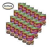 PACK OF 24 - Purina ALPO Prime Cuts With Lamb & Rice in Gravy Dog Food 13.2oz. Can