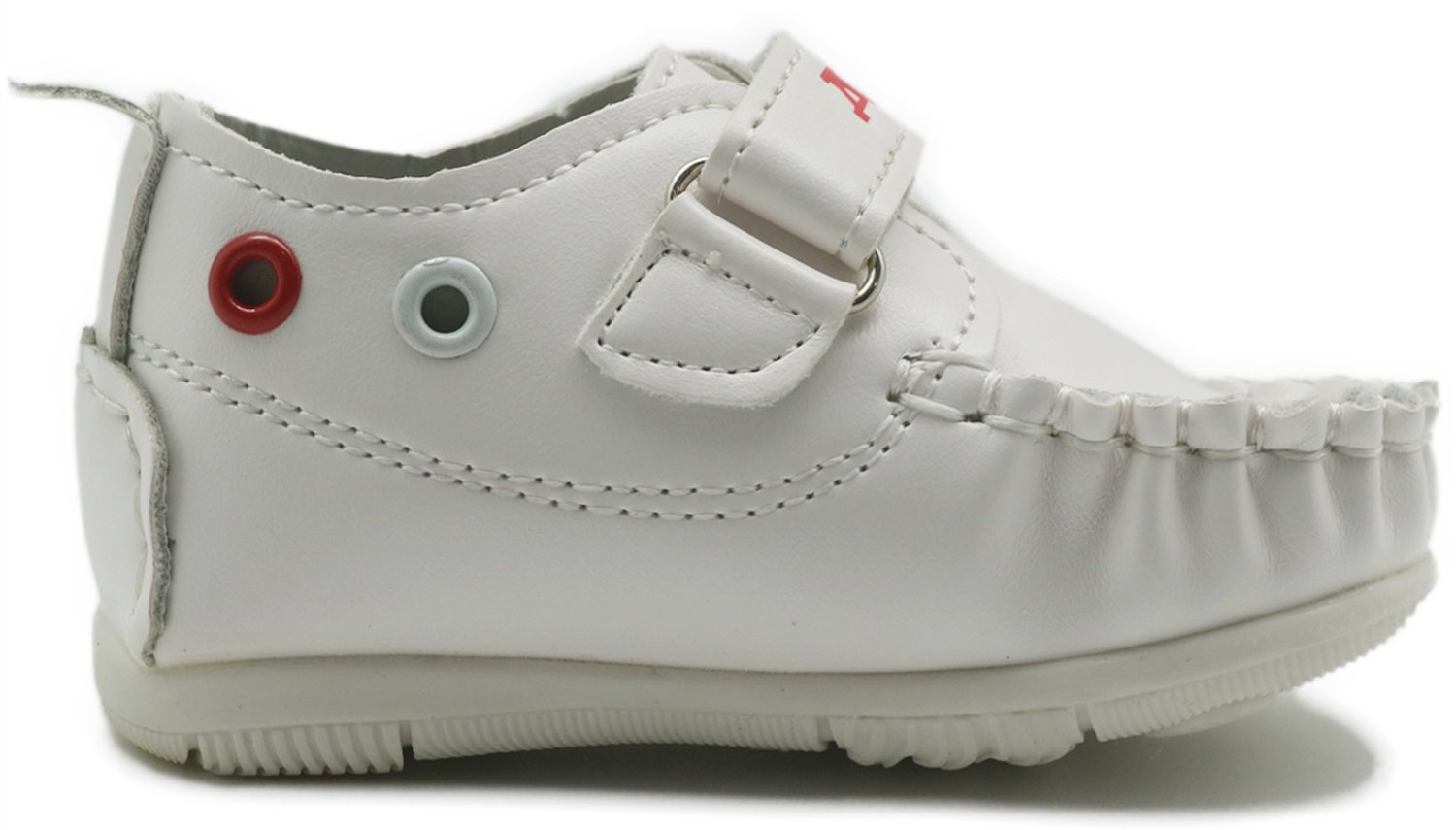 Non-Slip Boys Girls Rubber Sole Sneaker First Walkers Shoes Infant Casual Shoes Durable Color : White , Size : 5.5 M US Toddler