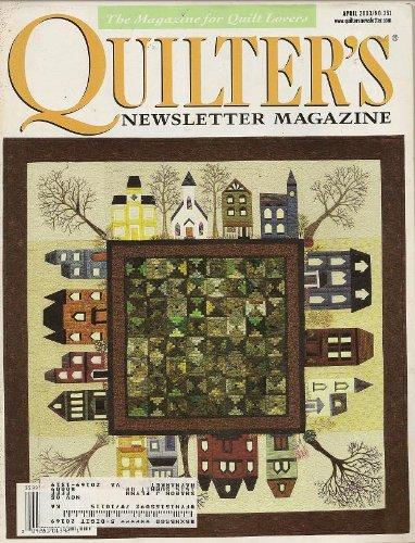 Quilter's Newsletter Magazine, April 2003 (Volume 34, Number 3, Issue Number 351) pdf