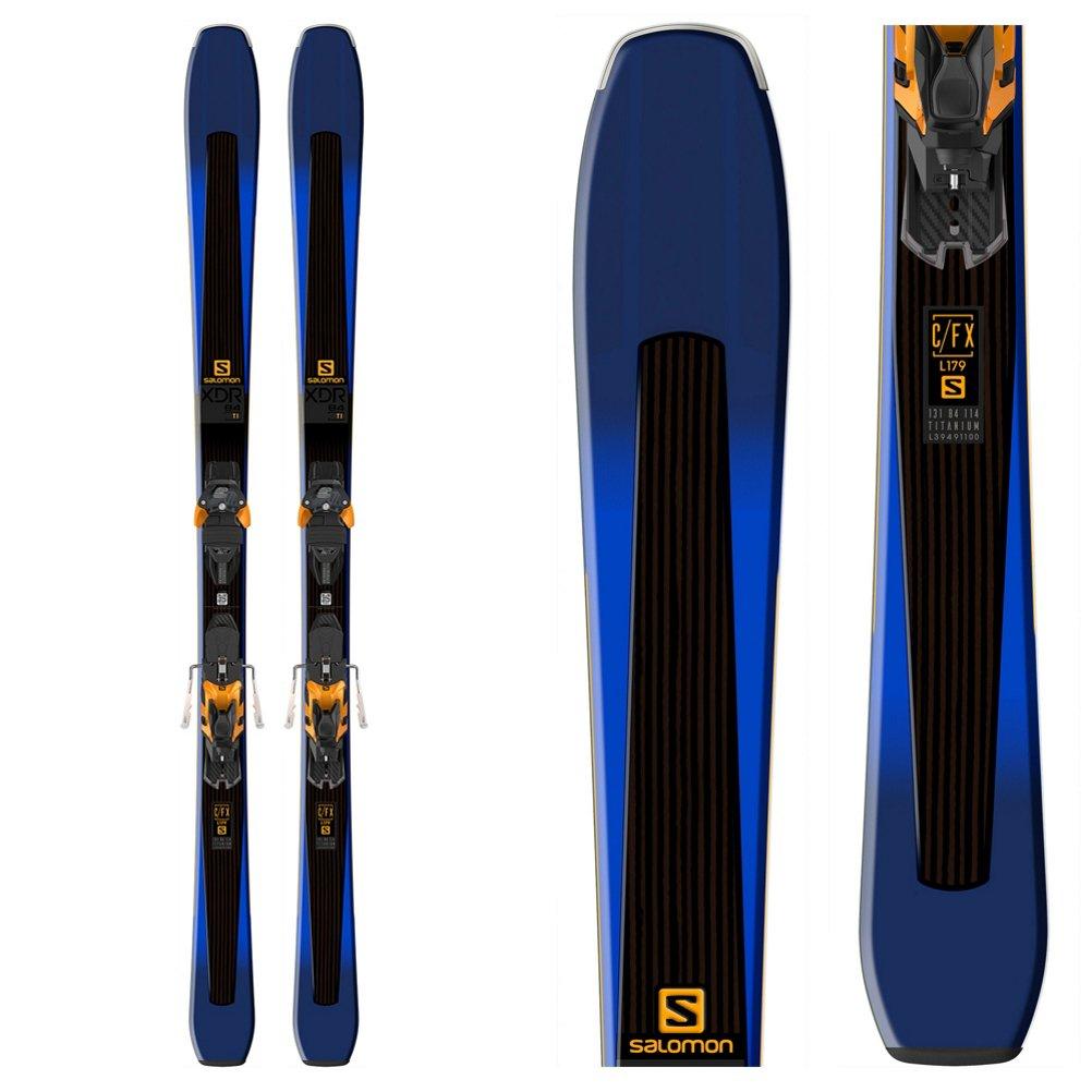 SALOMON(サロモン)【L39957100】17-18 メンズ スキー板 ビンディング セット XDR84TI+WARDEN MNC13 BLU×BLK 172cm
