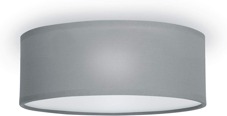 Smartwares Plafón Mia 6000.539 de Ranex, 30 cm, Gris