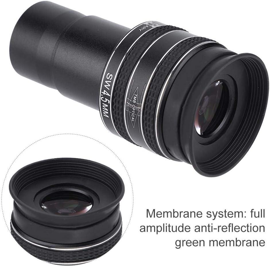 Qiterr 1.25inch TMB 4.5mm 58 Degree HD Planetary Eyepiece for Astronomical Telescope HD Planetary Eyepiece Telescope