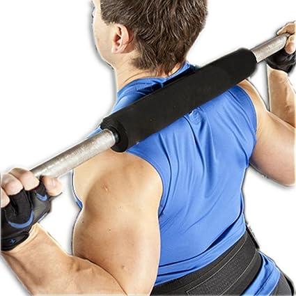 grofitness Powerlifting sentadillas pesas barra de apoyo de hombro Pad Core para levantamiento de peso cuello protectores de funda para, rojo: Amazon.es: ...