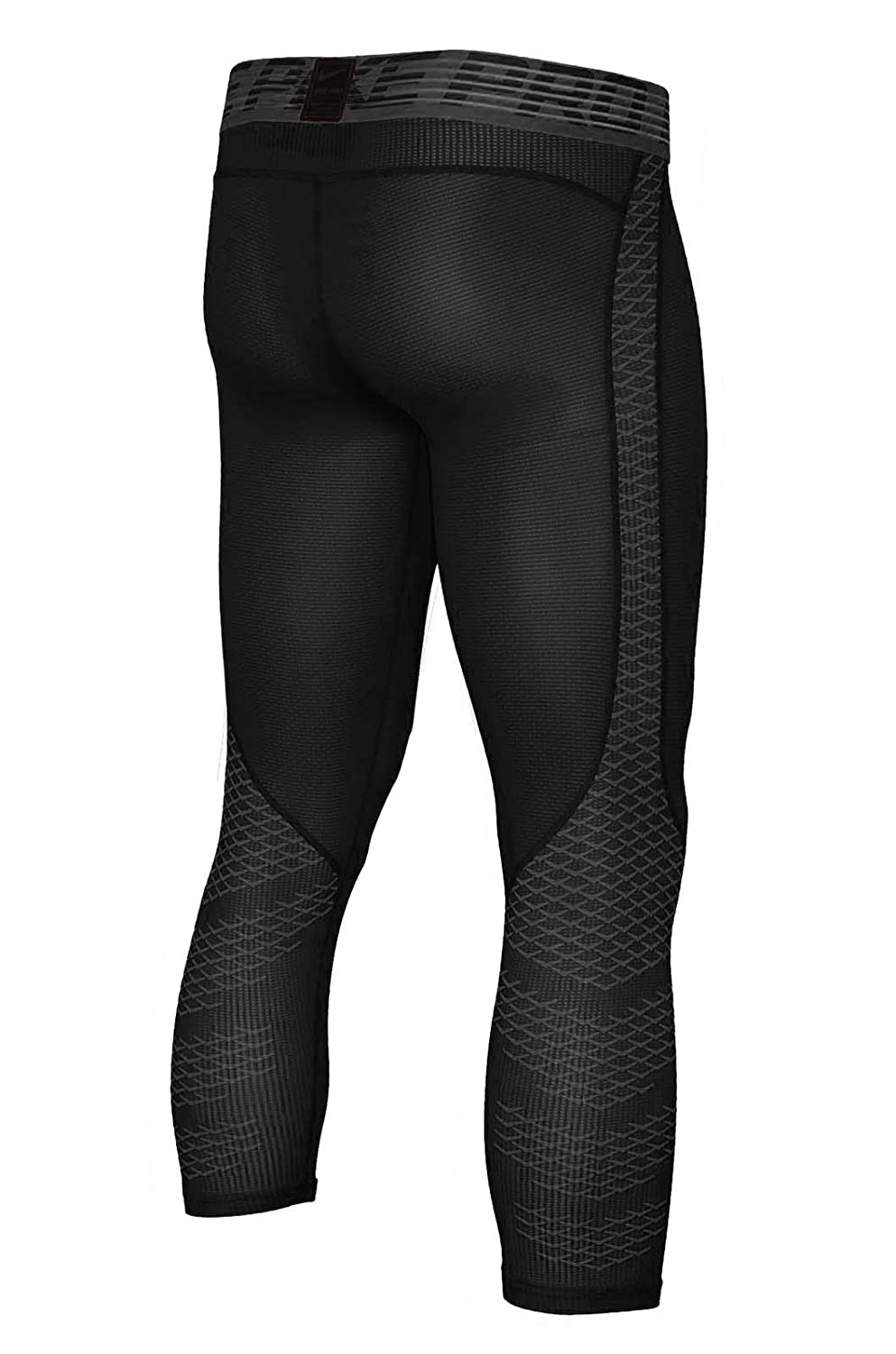 cbaf50c8262b4 Amazon.com: NIKE Men's Pro Hypercool 3/4 Black Tights 932411-010, Black /  Grey, Medium: Clothing