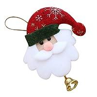 Sunnywill Ornement de Noël Pendentif Ornementation Décoration de Cloche, Pendentif de Noël