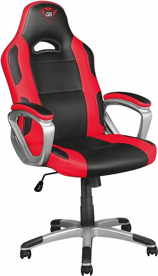 Sedia gaming ergonomica trust gxt 705 ryon nero/rosso 22256