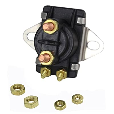 NEW STARTER SOLENOID FITS MERCURY MARINER 80HP 90HP V135HP 89-96158 89-96158T: Automotive