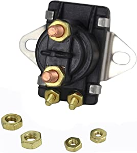 Rareelectrical New Power Trim Solenoid Compatible With Mercury Mariner 80Hp 90Hp V135Hp V150Hp By Part Numbers 89-96158 18-5817 89-96158T 8996158 8996158T