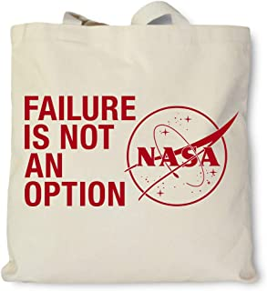 product image for Hank Player U.S.A. NASA Failure Is Not An Option Tote Bag