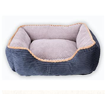 CHWWO Café de Lujo y Color Gris Cama Grande para Perros Cat Pet Pillow 120 *