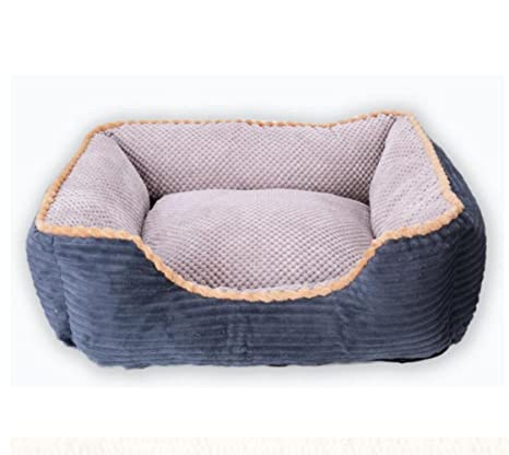 CHWWO Café de Lujo y Color Gris Cama Grande para Perros Cat Pet Pillow 120 * 90 * 24CM para Perros Grandes, utilizando Pana, Oxford Frabric, Desmontable y ...