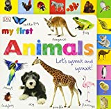 Best Board Books For Boys - Tabbed Board Books: My First Animals: Let's Squeak Review
