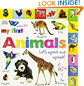 #10: Tabbed Board Books: My First Animals: Let's Squeak and Squawk! (Tab Board Books)