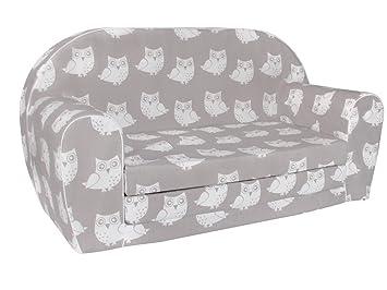 Sofá cama con colchón plegable infantil de gomaespuma ...