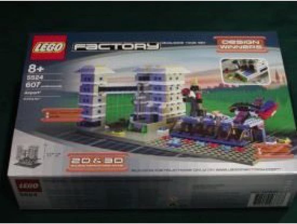 Factory Building Your Way Airport by Lego - 5524