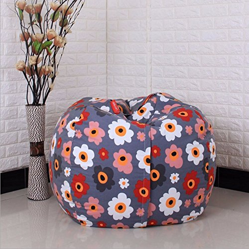 EXTRA LARGE Stuffed Animal Storage Bean Bag Chair with Extra Long Zipper, Carrying Handle, Large Size at 32'', 100% Sturdy Cotton. Excellent Solution for Toys and Clothes, Available For Boys And Girls by Mao (Image #4)