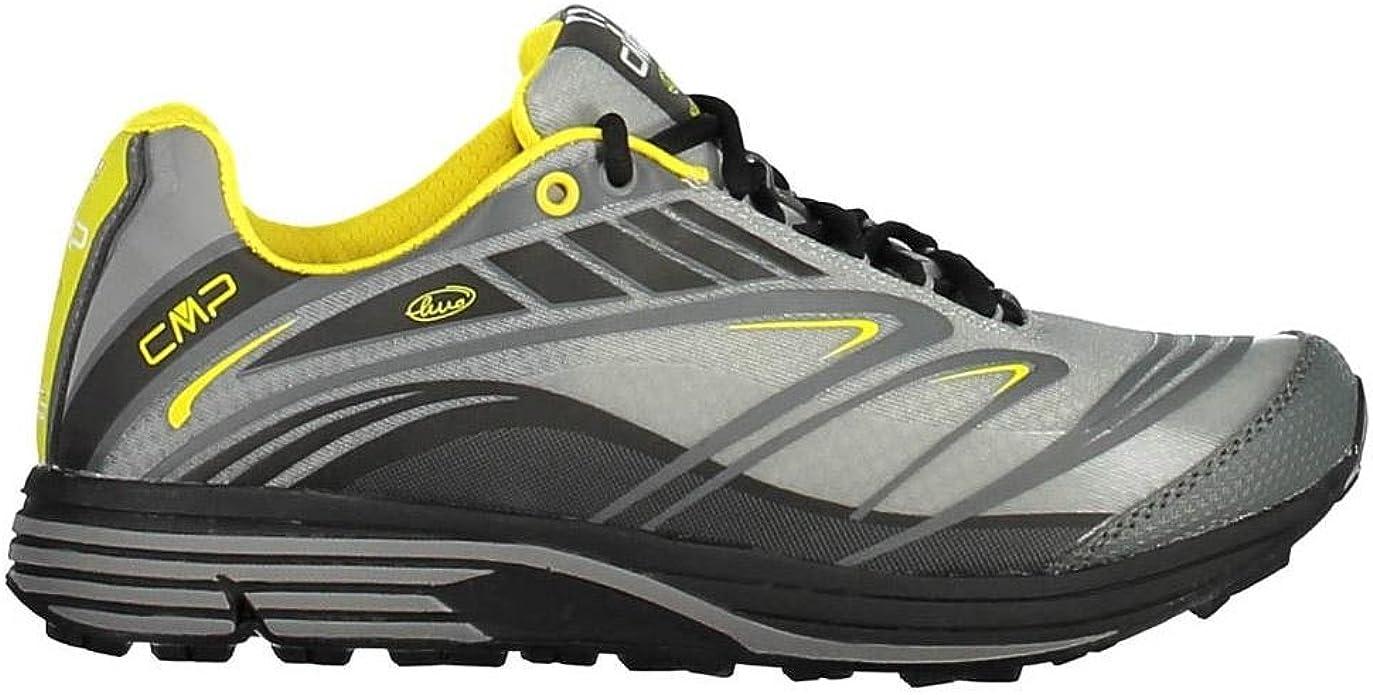 CMP Maia - Zapatillas de running (nailon, ligeras), color gris, color Gris, talla 42 EU: Amazon.es: Zapatos y complementos