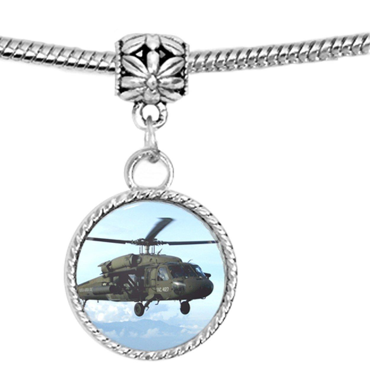 Elicottero H60 : Fac black hawk h elicottero war army charm amazon gioielli