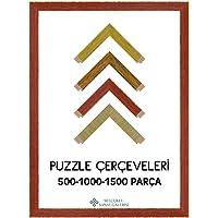 Puzzle Çerçevesi Eskitme 30 mm (Tüm Ölçüler) 50x70 cm Çerçeve 35x50 cm