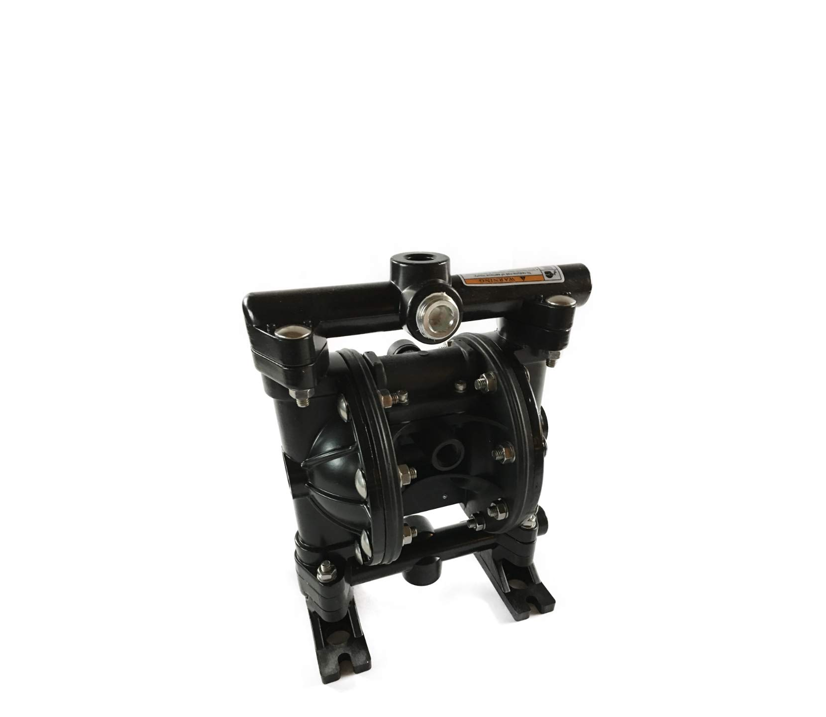 Double Diaphragm Air Pump PII.75A Chemical Industrial Aluminum 3/4'' NPT Inlet / Outlet