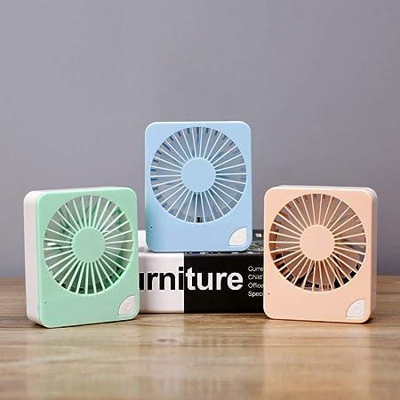 Xingya Mini Ventilador de luz Cuadrado Ventiladores portátiles USB ...