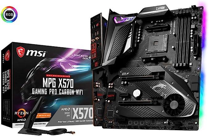 ASUS Carte Mère Gaming TUF Gaming X570 Plus (Wi Fi) AMD AM4 Ryzen 3000 (PCIe 4.0 M.2 12+2 Dr. MOS DDR4 LAN HDMI DP CFX USB 3.2 Gen 2 Type A Type C