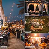 Outdoor String Light-50Ft G40 Globe Patio Lights
