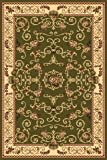 Rugs America New Vision Area Rug, 3-Feet 11-Inch by 5-Feet 3-Inch, Souvanerie Olive