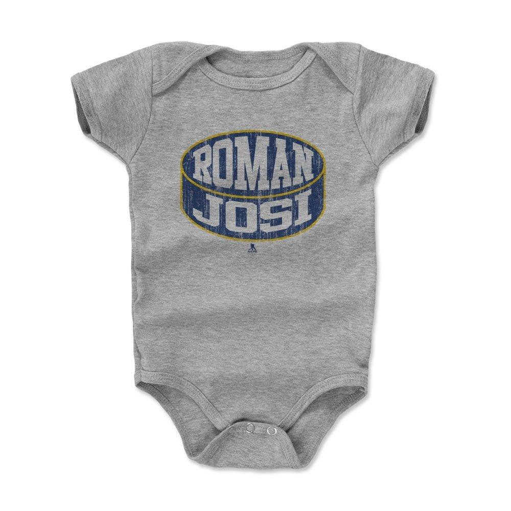 【送料無料】 500レベルのローマのJosi Infant & Months Baby Onesieロンパース – ナッシュビルHockeyファンギアNHLの公式ライセンス選手Association & – 18 Roman JosiパックB B01NCHMXJX ヘザーグレー 12 - 18 Months, シーツ屋:24e53757 --- arianechie.dominiotemporario.com