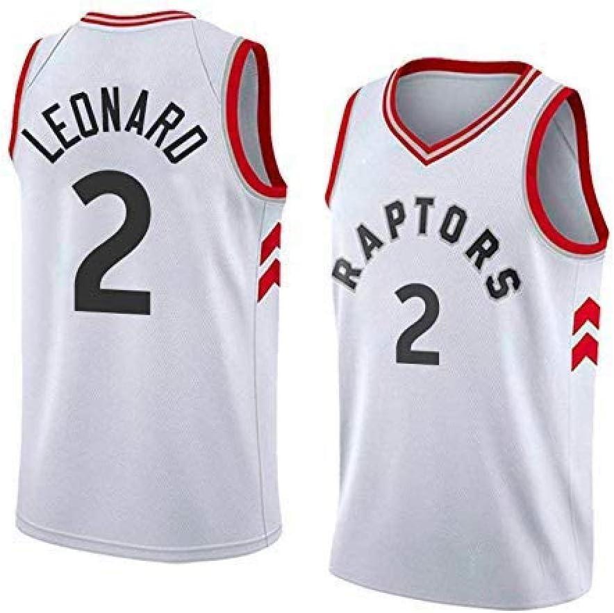 2 Kawhi Leonard Swingman Edition Basketball Mesh Trikot Sportswear Unisex,A-S WANGXIAO Herren Trikot