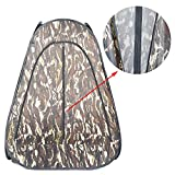 FOTOCREAT 4.8 Feet /100X145CM Portable Pop Up Privacy Changing Room,Waterproof Camping Shower Fishing Bathing Toilet Beach Park with Carry Bag