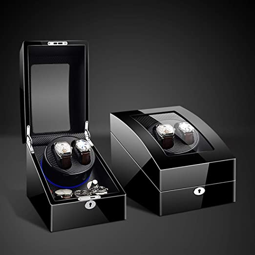 Caja Relojes Automaticos, Watch Winder Caja giratoria para Relojes ...