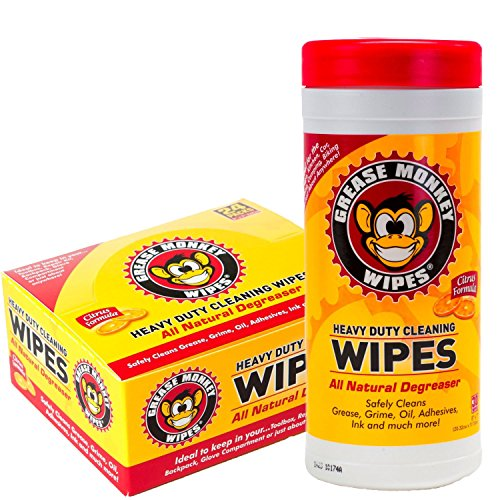 grease monkey wipes Details grease monkey wipes are individually packaged, multi-purpose cleaning wipes that use an all natural, citrus formula for heavy duty cleaning.