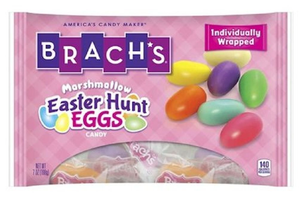 Brachs Easter Hunt Eggs Marshmallow Candy 7 oz (pack of 2) by Brach's (Image #1)