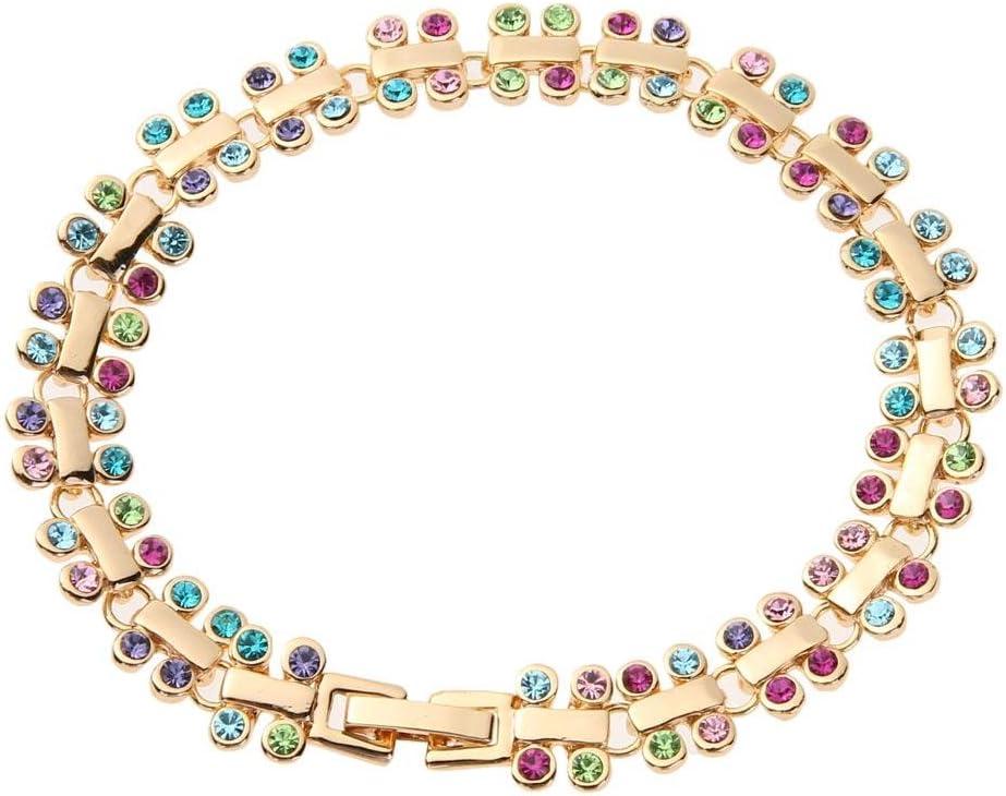 UNIhappy Pulsera de cuentas de cristal de bohemia para mujer, ideal para regalos de fiesta