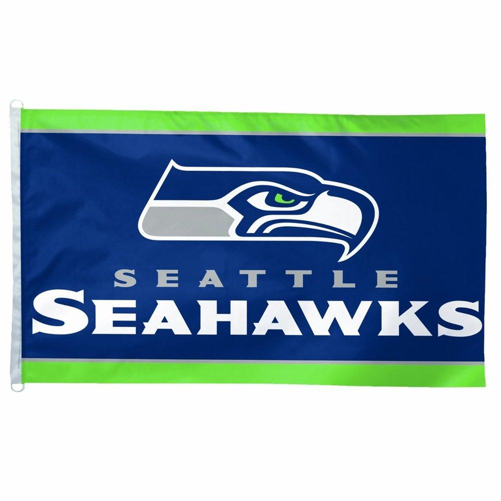 amazon com wincraft seattle seahawks 3x5 flag seattle seahawks rh amazon com seahawks clip art black and white seattle seahawks clipart