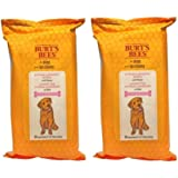Burt's Bees For Dogs Hypoallergenic Wipes With Honey 50 Count - Pack of 2