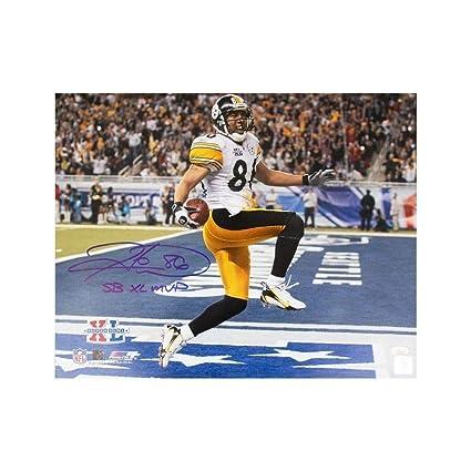 c853121a4fb Hines Ward Sb Xl Mvp Autographed Signed Pittsburgh Steelers 16x20 Photo - Memorabilia  JSA COA