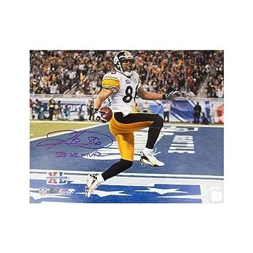 937b2382f Hines Ward Sb Xl Mvp Autographed Signed Pittsburgh Steelers 16x20 Photo -  Memorabilia JSA COA