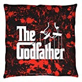 The Godfather 1970's Crime Drama Mob Movie Puppet Master Logo Throw Pillow