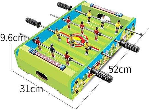 YZWJ Kinderspielzeug Table Football Machine Escritorio de fútbol Doble Interactivo Juego de Mesa 3-10 años de Edad, niño de Juguete: Amazon.es: Hogar
