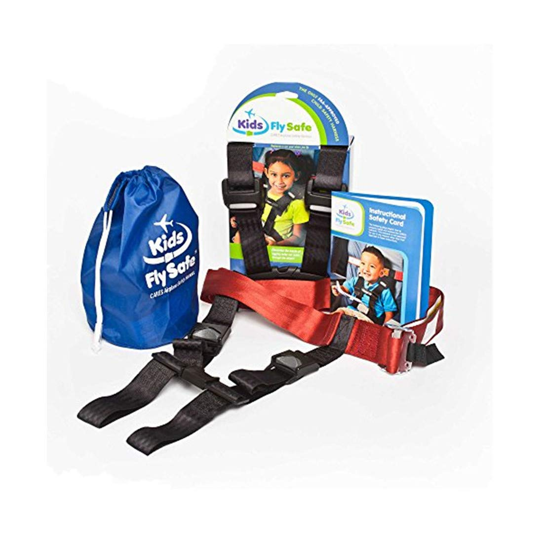 Travel Fly Safety Harness , Child Airplane Fly Seat Belt ,Cares Safety Restraint System, FAA Approved Device