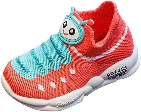 Calcetines elásticos Caterpillars Transpirables Zapatillas para niña o niño con Fondo Suave Antideslizante Baloncesto Running Casual Youngii, (Rojo sandía), 24 EU: Amazon.es: Zapatos y complementos