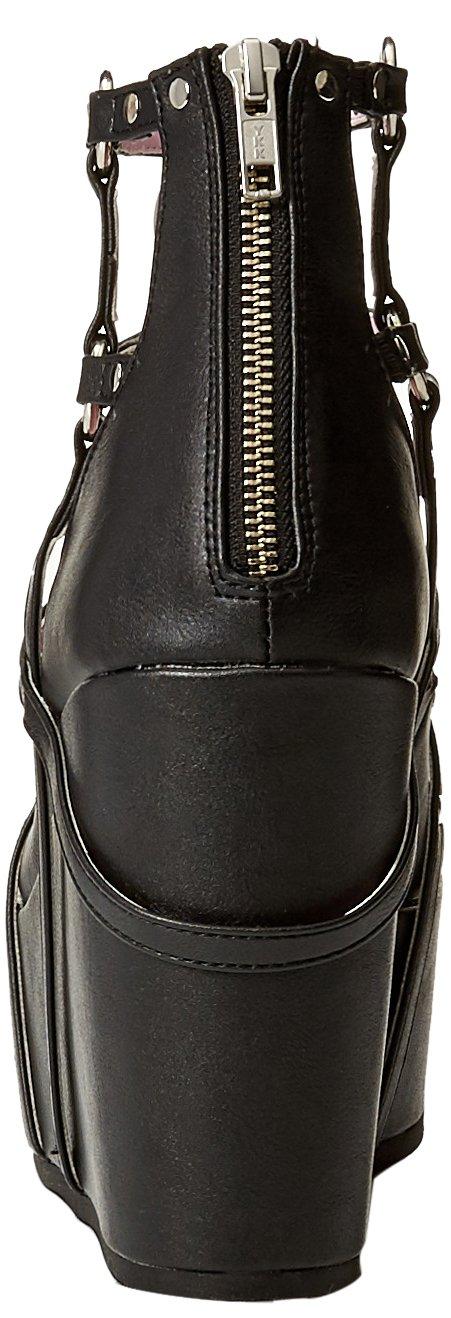 Demonia Women's Poison-25-1 Ankle Boot B01NCKQZRY 11 B(M) US Black Vegan Leather