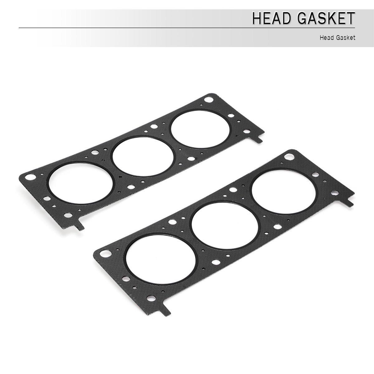 Amazon.com: Cylinder Head Gasket Set, YITAMOTOR Head Bolts Compatible for  Chevrolet Pontiac 3.1L 3.4L V6 OHV VIN F, HS9071PT: Automotive