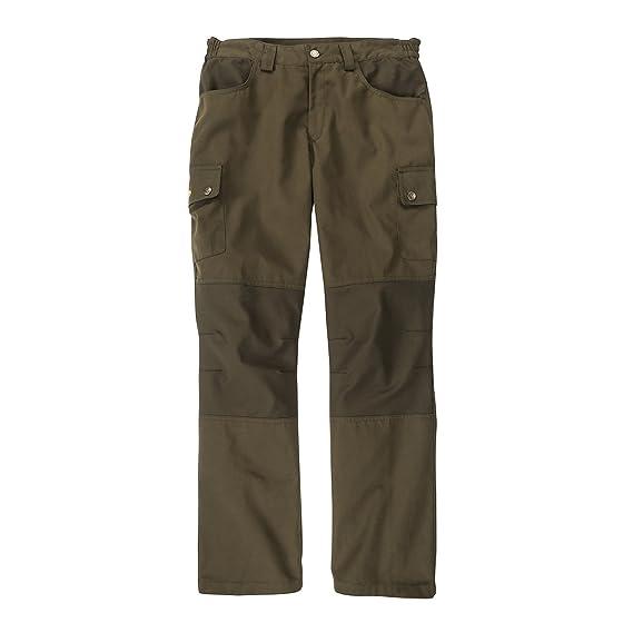 dfc361d1b81b7 Hubertus Canvas Outdoor Pants Olive Oversize: Amazon.co.uk: Clothing